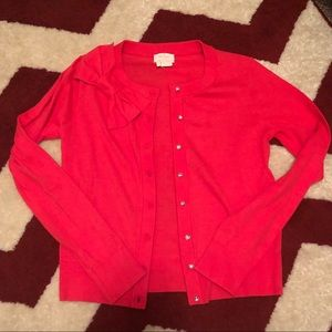 Kate Spade Coral Sweater Bow Live Colorfully